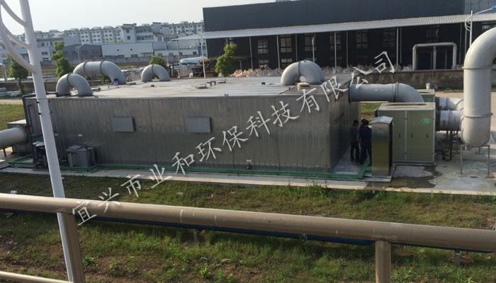 黄山某污水水处理站生物除臭系统
