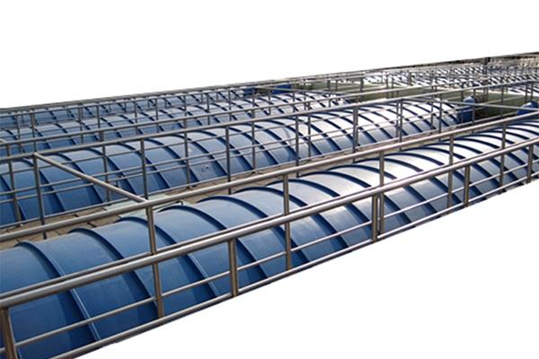污水池玻璃钢密封罩